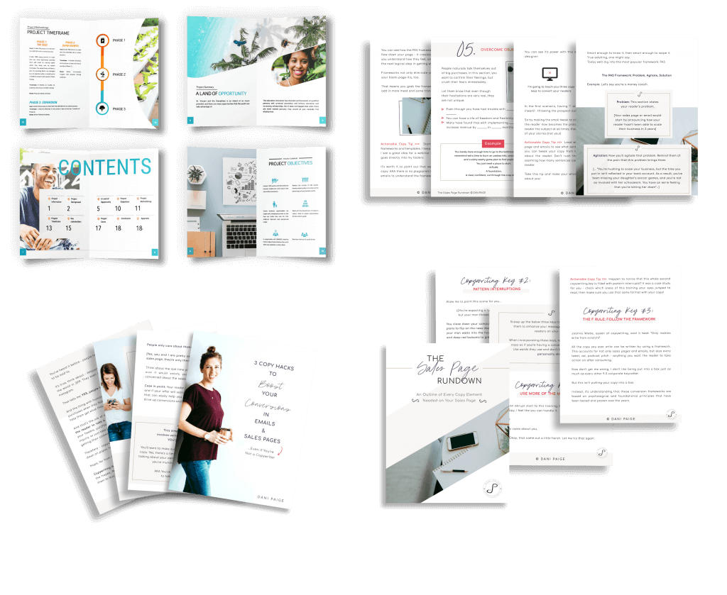 PDFs and Brochures | Design Ninja | Create With Vicky