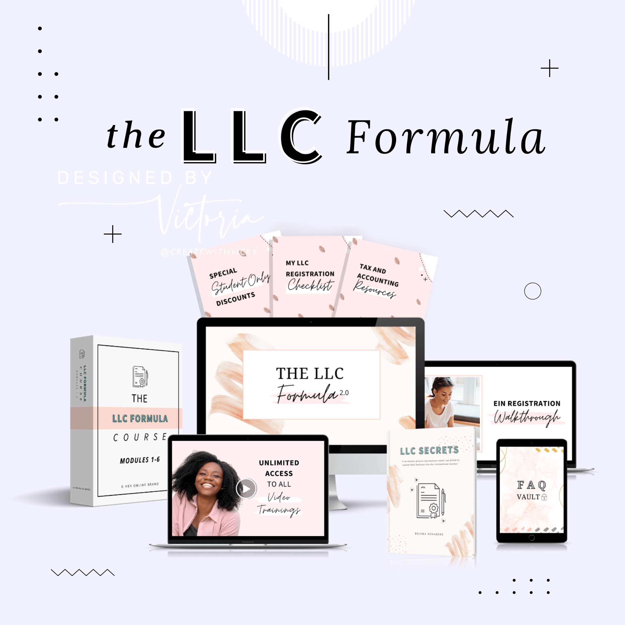 LLC Formula Launch Mockup